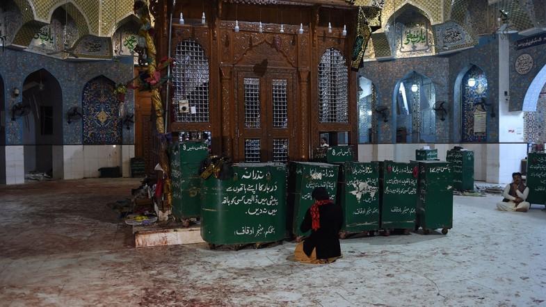 75 killed in Sufi shrine suicide attack in Pakistan