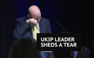 I will not allow them to break Ukip: Paul Nuttall gets emotional during party conference speech
