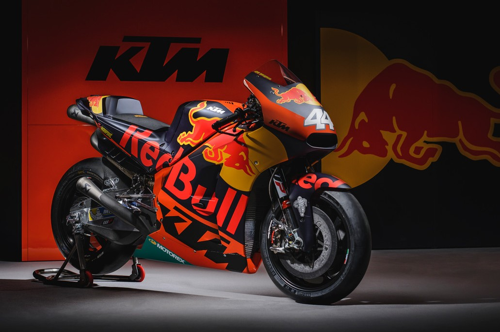 red bull ktm factory racing unveils rc16 bike for its. Black Bedroom Furniture Sets. Home Design Ideas