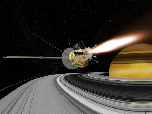 nasa, Saturn, Cassini, spacecraft,