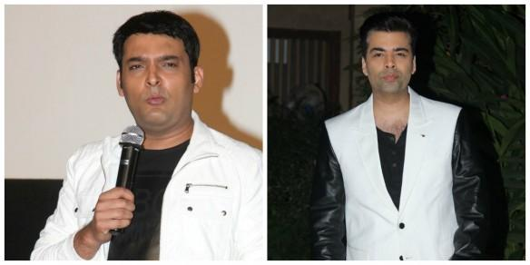 Kapil Sharma and Karan Johar