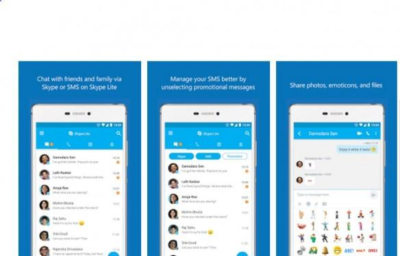 Skype Lite, microsoft, made for india, video chat app, mobile, Google Play store, Android, India, built for india