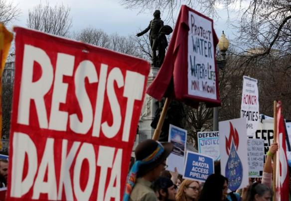 Dakota Access Pipeline, Dakota Access Pipeline protest