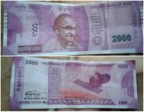 Fake Rs 2000 note