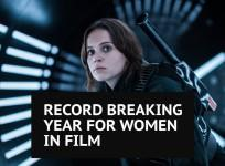 Girls on top as female lead roles hit record high for 2016