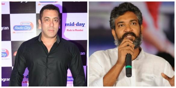 Salman Khan and SS Rajamouli