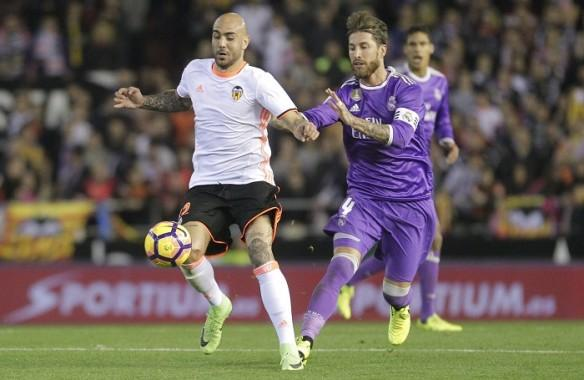 Real Madrid lose, Simone Zaza, Valencia vs Real Madrid, Valencia