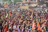BJP election rally
