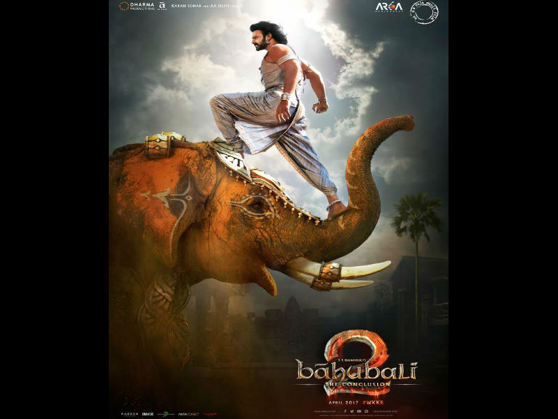 Bahubali-The Conclusion (Bahubali 2): New poster shows