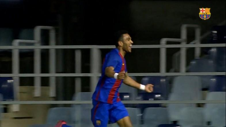 The new Messi? Barcelona youngster Jordi Mboula scores wonder goal