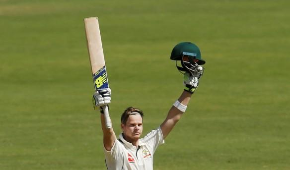 Steven Smith, century, Australia, India, first Test, Day 3