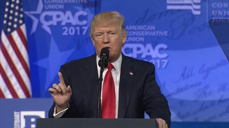 Trump said immigration is damaging Paris during CPAC 2017 speech