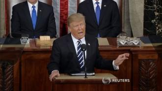 Donald Trump promises to strengthen border control and demolish Isis