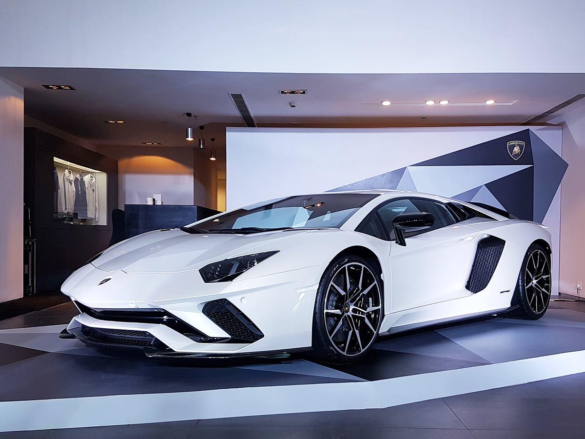 Lamborghini Aventador S, A More Potent Version Of The