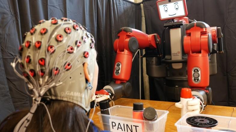 Brain-controlled robots developed by MIT