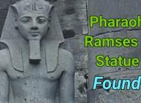 Pharaonic statue of Ramses II and Seti II found in Egypt