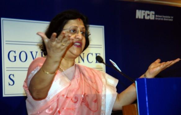 sbi chairman arundhati bhattarcharya, sbi chief on farm loan waiver, privilege motion against sbi chief in maharashtra, bjp, shiv sena, devendra fadnavis government, politics in maharashtra