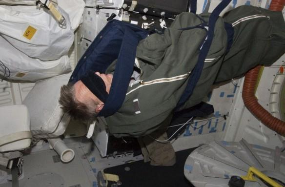 nasa, astronaut, sleeping, torpor, space,