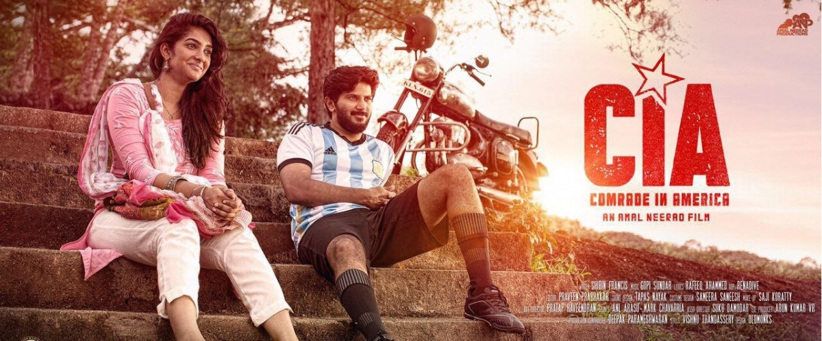 Is this the release date of dulquer salmaan 39 s comrade in for K muraleedharan family photo
