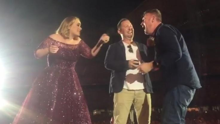 Surprise same-sex marriage proposal delights Adele at her final Australian show