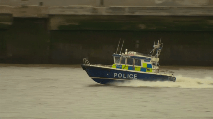 Met police simulate terrorist hijacking on Thames tourist boat
