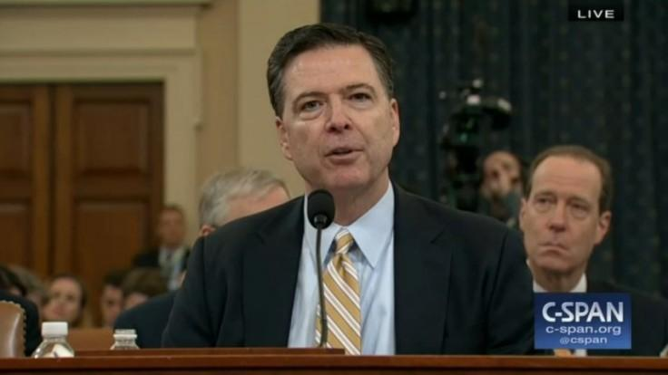 FBI Director James Comey: We cant talk details about Russia election probe publicly yet