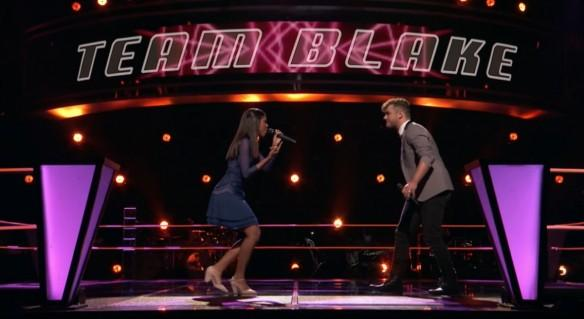 Aliyah Moulden and Dawson Coyle on The Voice USA 2017