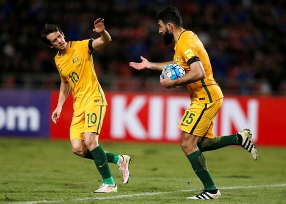 Australia, Jedinak, Kruse, Iraq, World Cup