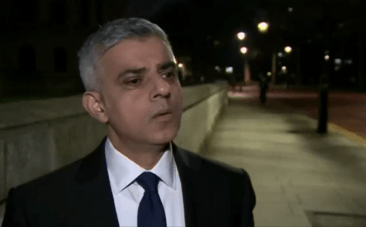 Westminster attack: 'We wont be cowed by terrorists' says London Mayor Sadiq Khan