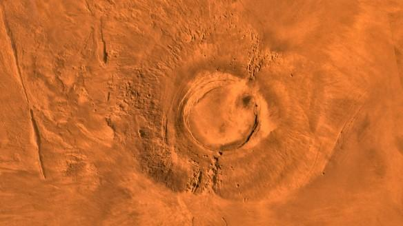 nasa, Mars, volcano, Mars exploration, Arsia Mons
