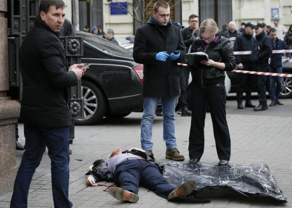 Denis Voronenkov, lawmaker, Russian State Duma, shot dead, central Kiev, Ukraine