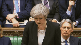Theresa May: 'This was an attack on free people everywhere'