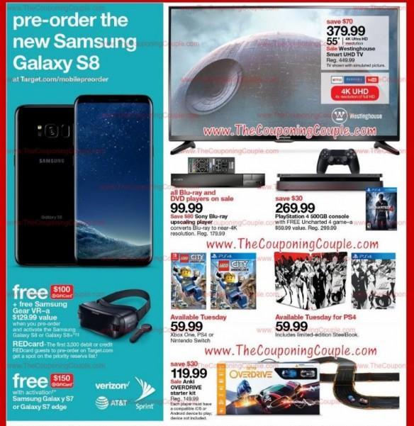 Samsung, Galaxy S8, Target, Galaxy S8 Plus, pre-order date, gift vouchers