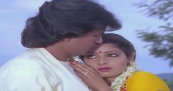 Mithun and Sridevi