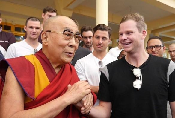 steve smith, dalai lama