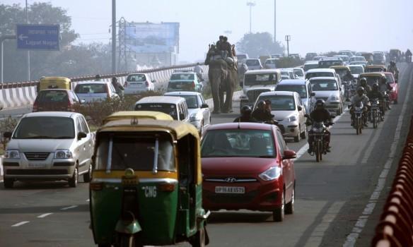 india, traffic, roads
