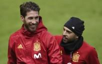 spain football, sergio ramos