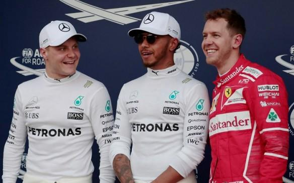 Valtteri Bottas, Lewis Hamilton, Sebastian Vettel, Australian Grand Prix, Mercedes