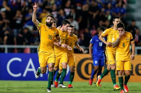 Mile Jedinak, Australia, UAE, 2018 World Cup, qualifiers