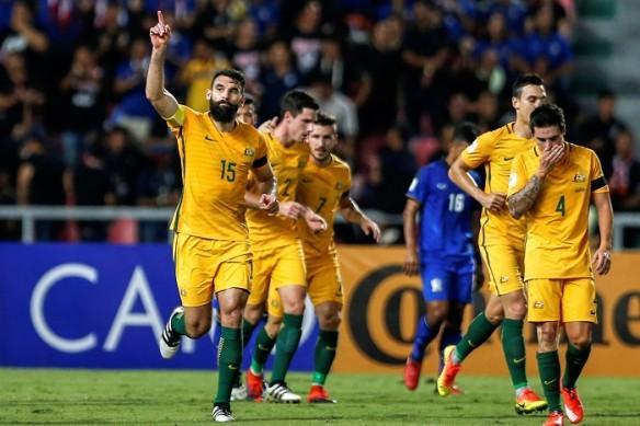 Mile Jedinak, Australia, UAE, 2018 World Cup, qualifiers