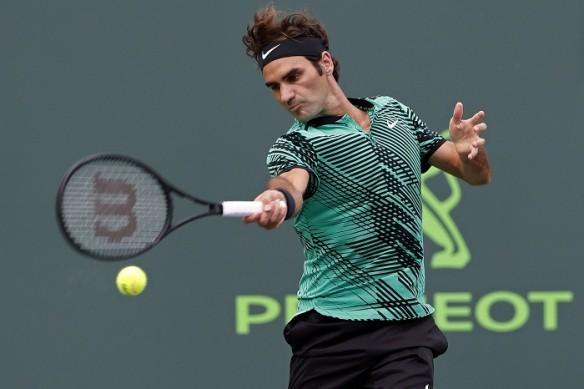 Roger Federer, Miami Open, Federer vs Potro,
