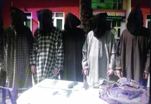 hizbul mujahideen busted, hizbul mujahideen module