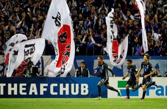 Hiroshi Kiyotake, Japan, Saudi Arabia, Thailand, World Cup qualifier