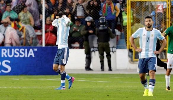 Angel Di Maria, Sergio Aguero, Argentina, Bolivia, World Cup qualifiers