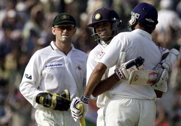 Adam Gilchrist, Australia, VVS Laxman, Rahul Dravid, India