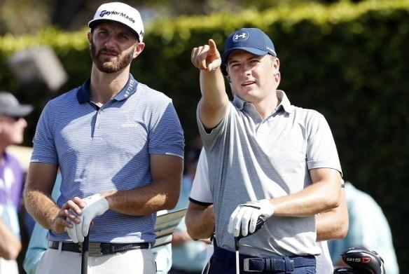 Dustin Johnson, Jordan Spieth, US Masters, golf, Augusta