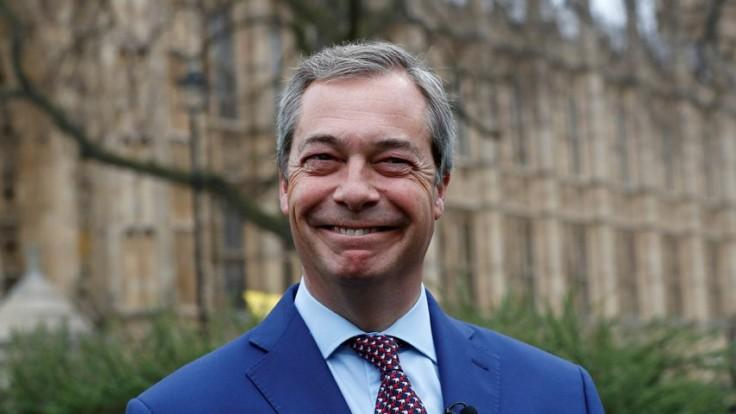 Nigel Farage says the EU is 'behaving like the Mafia'