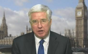 UK Defence Secretary Michael Fallon: We fully support the American action in Syria