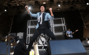 Maximo Park frontman Paul Smith on why artists like Beyonce should talk politics