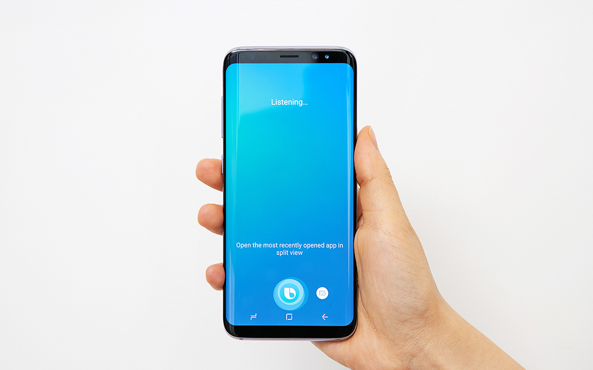 Samsung Galaxy S8 series gets Bixby Voice feature via OTA ...